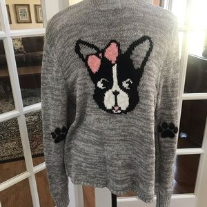 New Justice Doggy open cardigan 🐶 Sz. 20